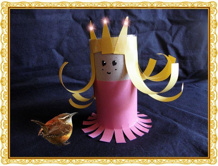 Paper Roll Princess Craft