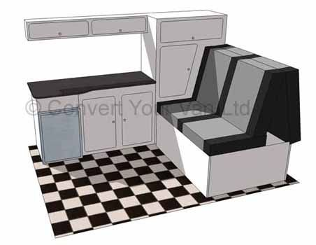 Convert Your Van Ltd - Camper / Motorhome Interior Layout Guide