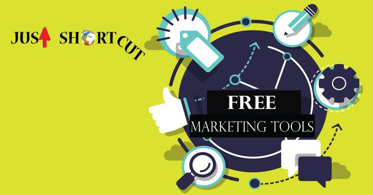 Just shortcut - Creative Marketing Solutions provide you amazing free marketing tools that will help you very much with your business