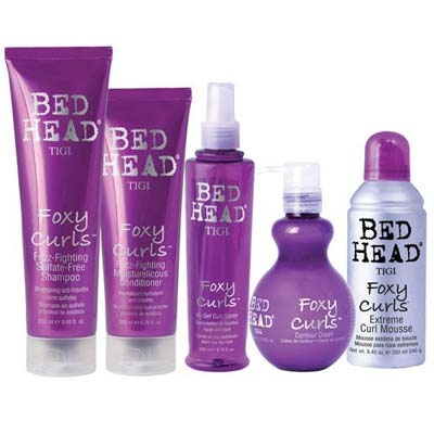 Love all these foxy curls Bed Head products!!!!