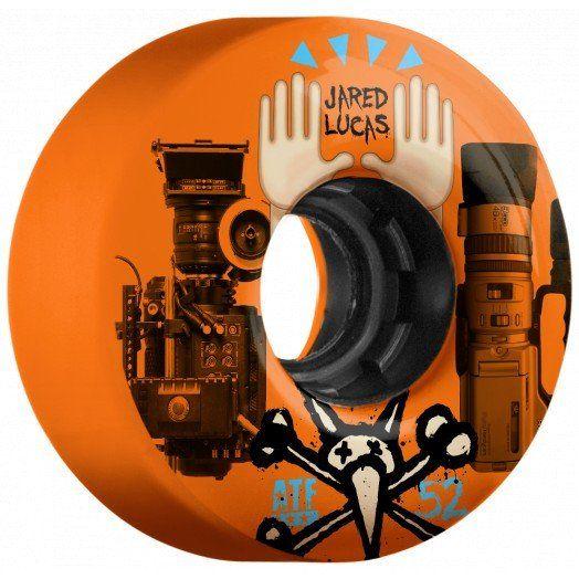 BONES ATF FILMER LUCAS VERSUS 52MM SKATEBOARD WHEELS