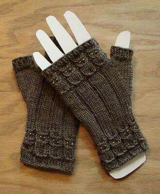 8 besten eldiven Bilder auf Pinterest | Fingerlose handschuhe ...