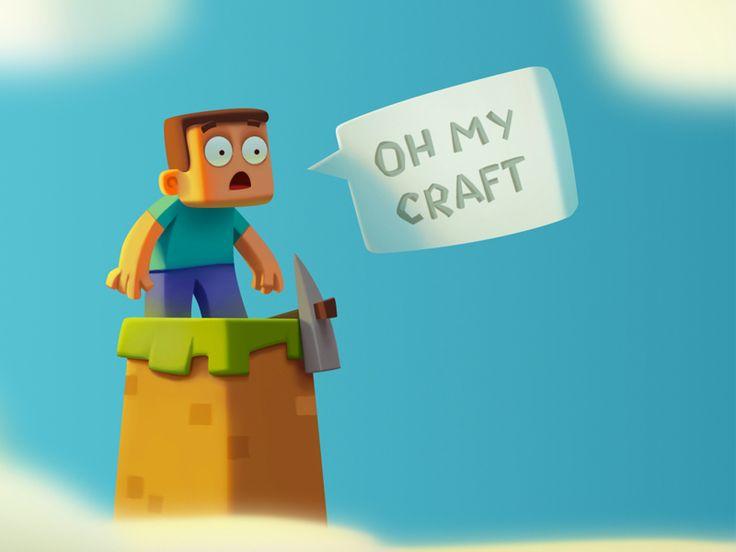 Dribbble - Oh my craft by Jenya Tkach