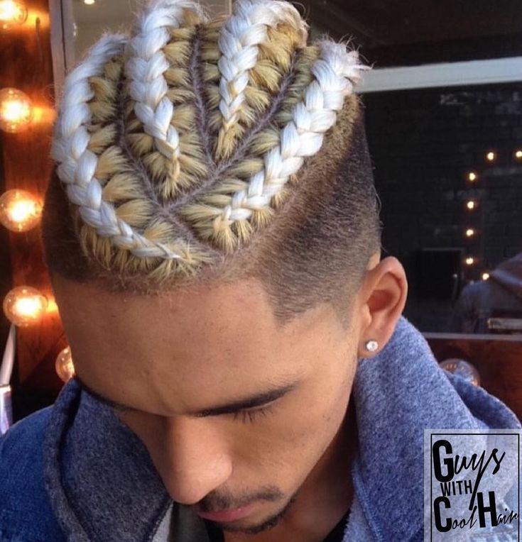 Braids With Blonde Extension Long Hair Styles Men Long