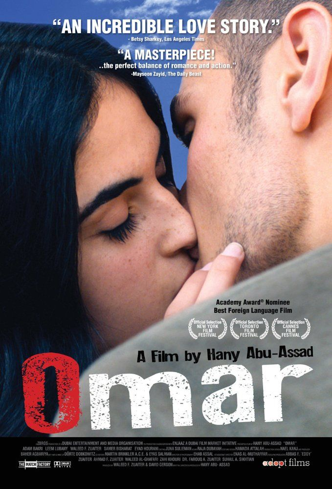 Directed by Hany Abu-Assad.  With Adam Bakri, Leem Lubany, Eyad Hourani, Samer Bisharat. A young Palestinian freedom fighter agrees to work as an informant after he's tricked into an admission of guilt by association in the wake of an Israeli soldier's killing.