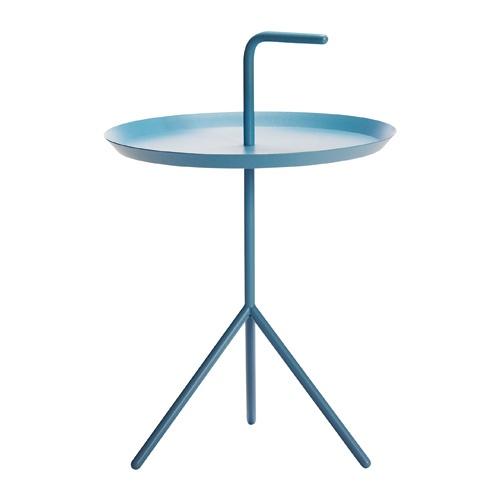 De Hay DLM tafel is een moderne, simplistisch vormgegeven bijzettafel.  #bijzettafel #blauw
