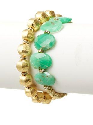 Diane Yang Designs Crysophrase Stretchy Bracelet Set