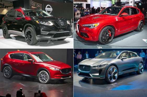 19 Slides showing SUV's of the 2016 LA Auto Show. The popularity of crossove