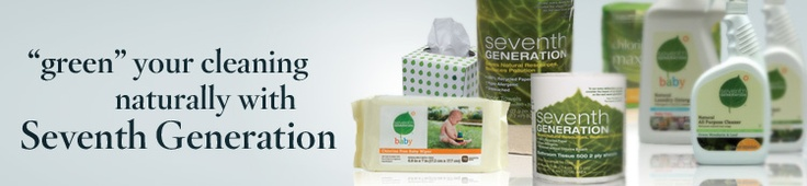 Seventh Generation makes a great gift for the new home owners or for baby products at a shower! - 7th Generation Products - Gaiam