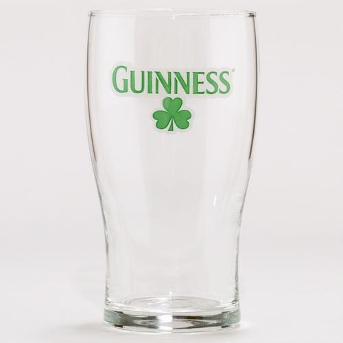 Shamrock Guinness Glasses, Set of 4