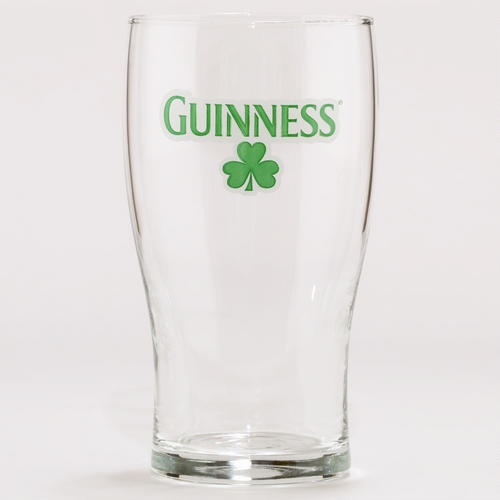One of my favorite discoveries at WorldMarket.com: Shamrock Guinness Glasses, Set of 4