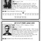 This amazing freebie gives fun and historical facts about George Washington and Abraham Lincoln. Students must use basic addition and subtraction t...