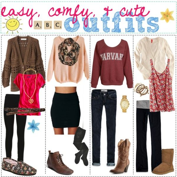 Easy u0026 Comfy Cute outfits | outfits | Pinterest | The plastics The outfit and Boots
