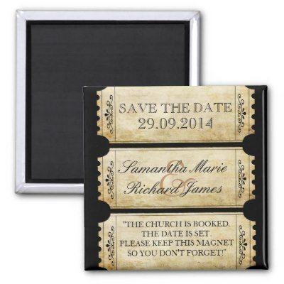 Fridge magnet untuk wedding venues