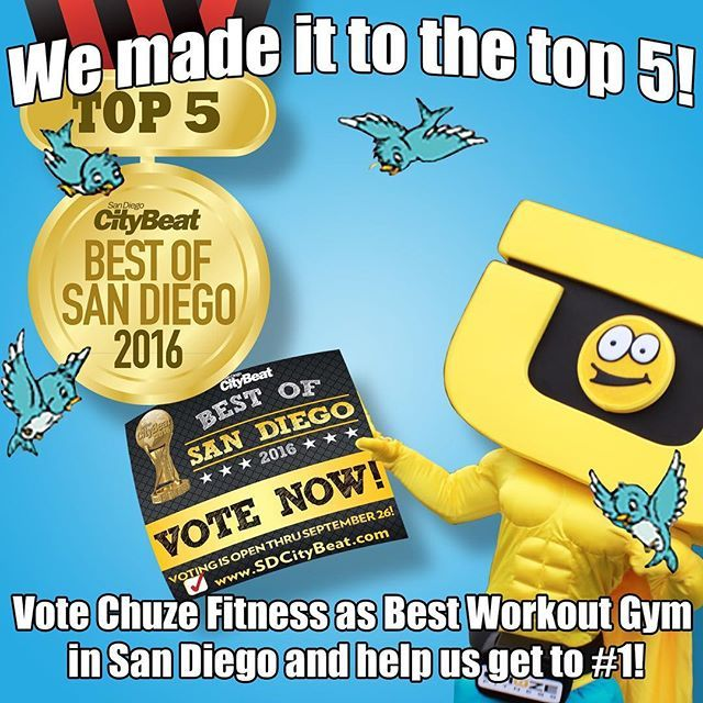 You got us to the top 5, now help us get to number 1! You are the best members…