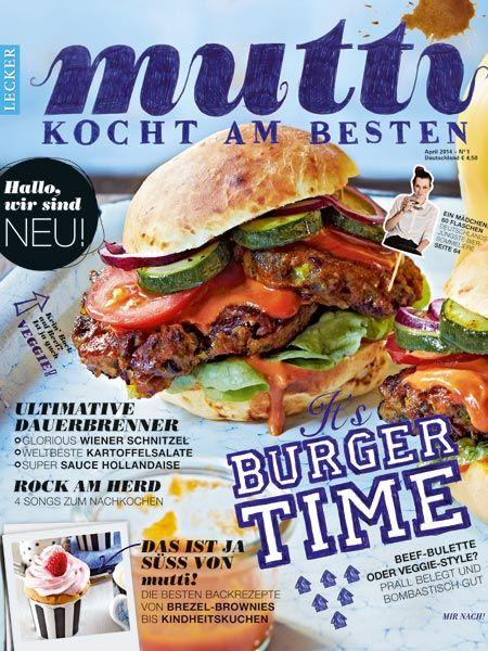 """Für 30 Journalistenschüler der Bauer Media Academy hat sich ein Traum erfüllt. Ihr entwickeltes Food-Magazin """"mutti"""" ist ab sofort am Kiosk erhältlich."""