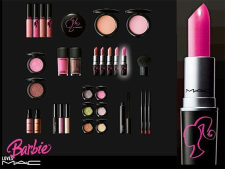 ballet, fashion, and iced green tea: Barbie M.A.C makeup