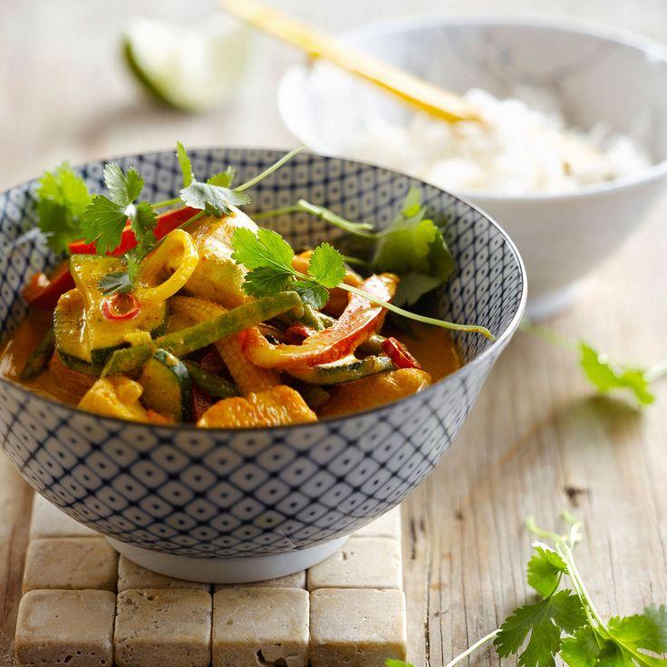 Découvrez la recette du poulet au curry