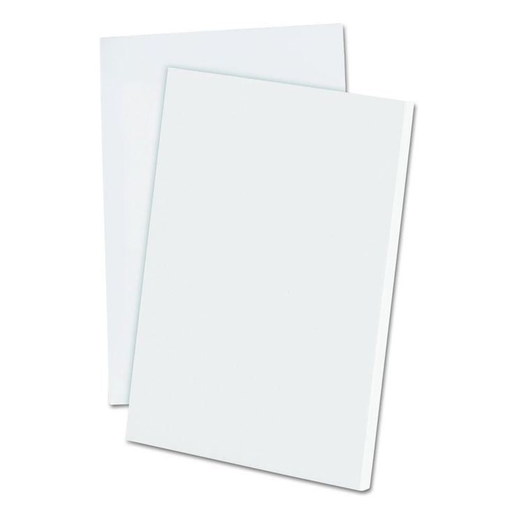 Ampad Evidence Recycled Scratch Pad Notebook, Unruled, 4 X 6 Inches, White, 100