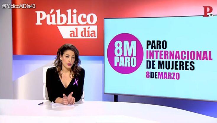 8M: la huelga feminista y otras noticias de hoy del informativo 'Público al Día' del 7 de marzo