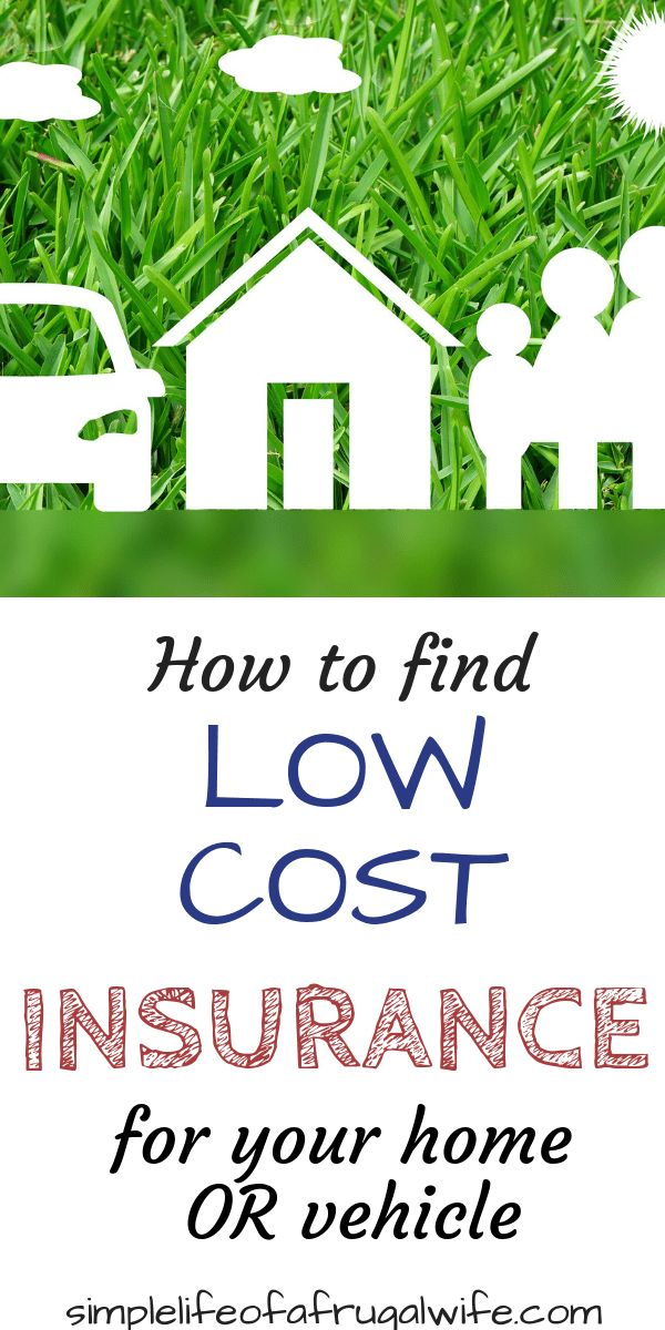 How to find low cost Insurance - Simple Life of a Frugal ...