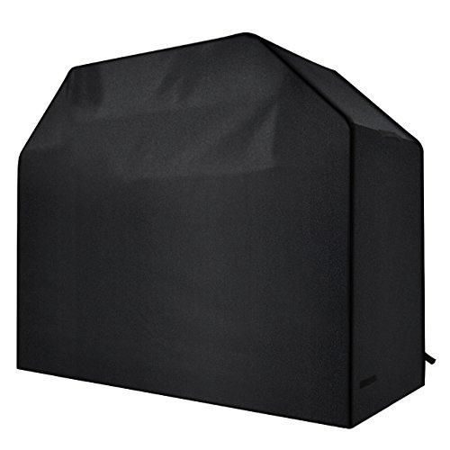 Homitt Gas Grill Cover, 58-inch 600D Heavy Duty Waterproof BBQ Grill Cover
