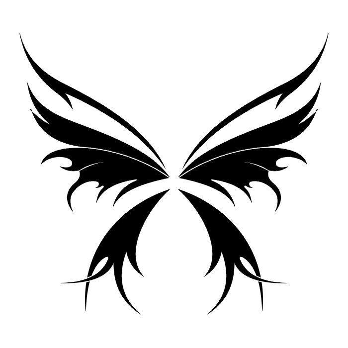 tribal butterfly drawings - 640×640