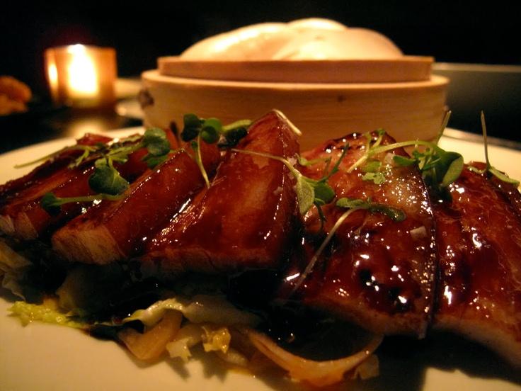 Buddakan Hoisin Glazed Pork Belly And Steamed Buns 2012