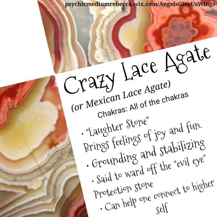 Crazy Lace Agate crystal meaning