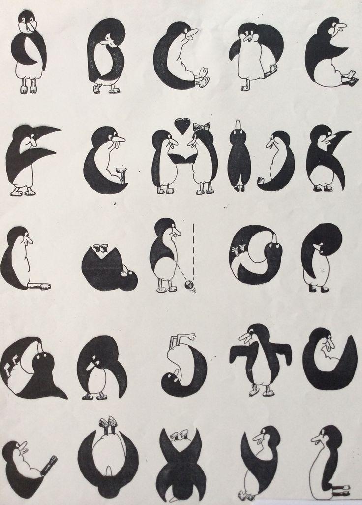 Penguin Alphabet.