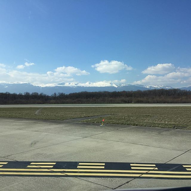 At the holding point in Geneva today. Where did you get to see today? #avgeek #femalepilot #bestviews Lets connect on facebook: facebook.com/emmatellesyceo