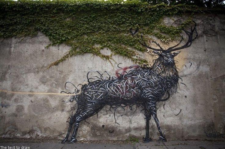 Необыкновенный уличный стрит арт DALeast