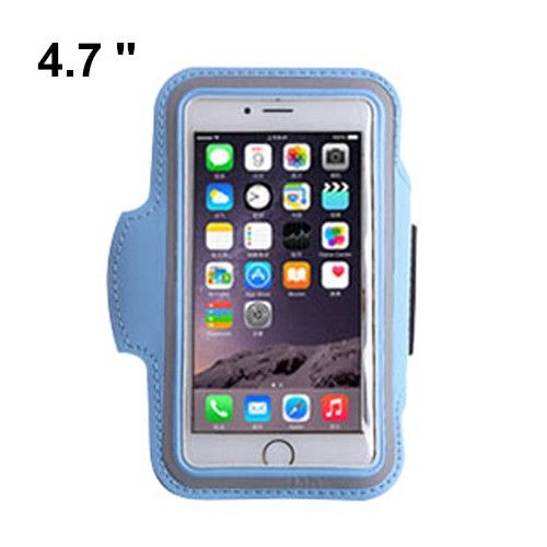 Gym Armband Waterproof Running 4.7 Inch Mobile Phone Bag Pounch Belt Case For iPhone 5 6 Samsung Portable PU Smartphone Bags
