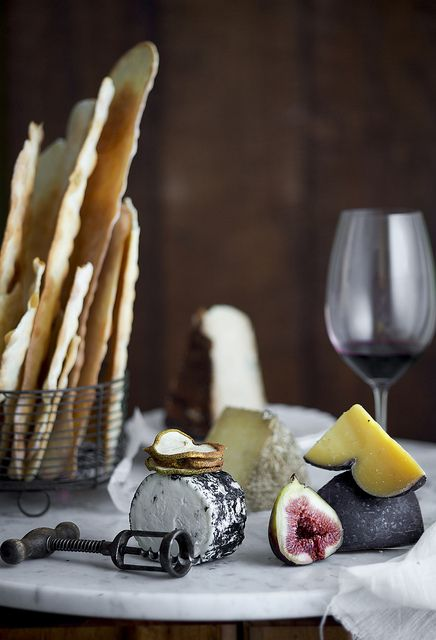 cheese, bread, wine and figs - DarioMilano Food Styling & Photography's photostream