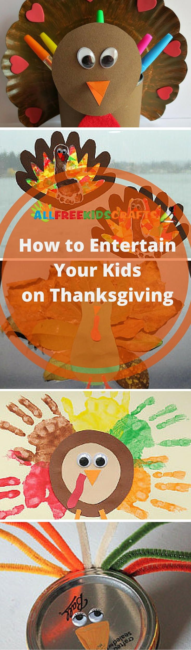 How to Entertain Your Kids on Thanksgiving | AllFreeKidsCrafts.com