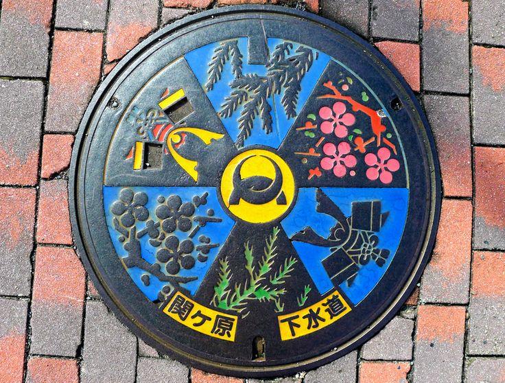 Japanese-manhole-cover-art-16.jpg 800×607 pixels