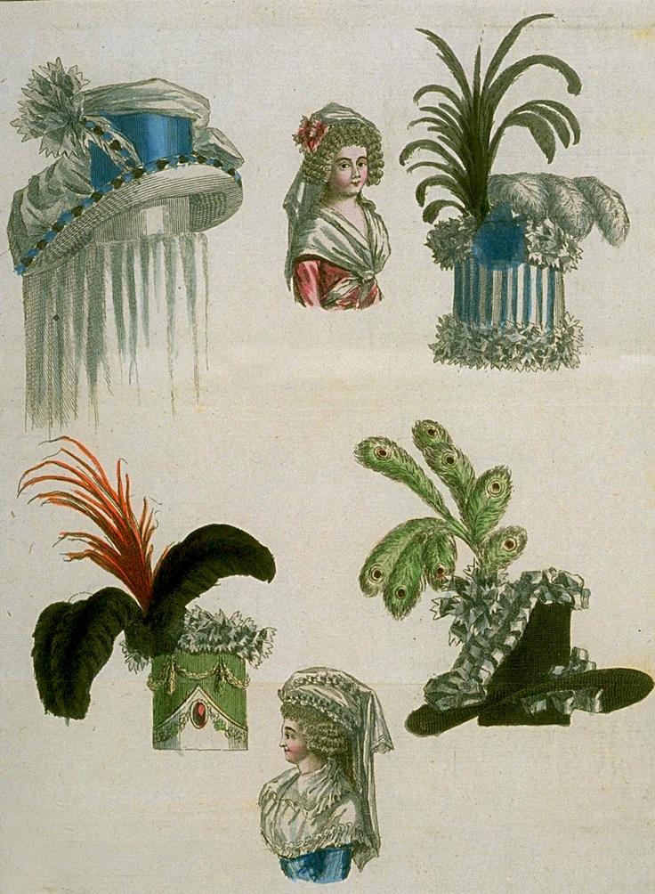 Hats, January 1789.