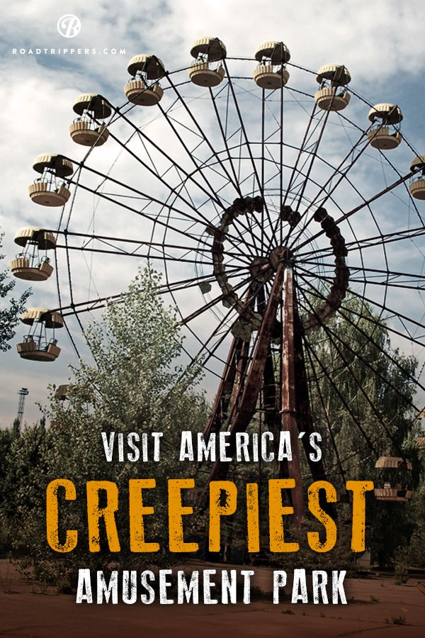Here's some of the creepiest abandoned amusement parks in the USA!