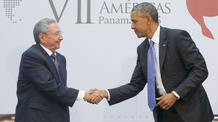 President Obama, Cuban President Raul Castro Officially Meet For ...