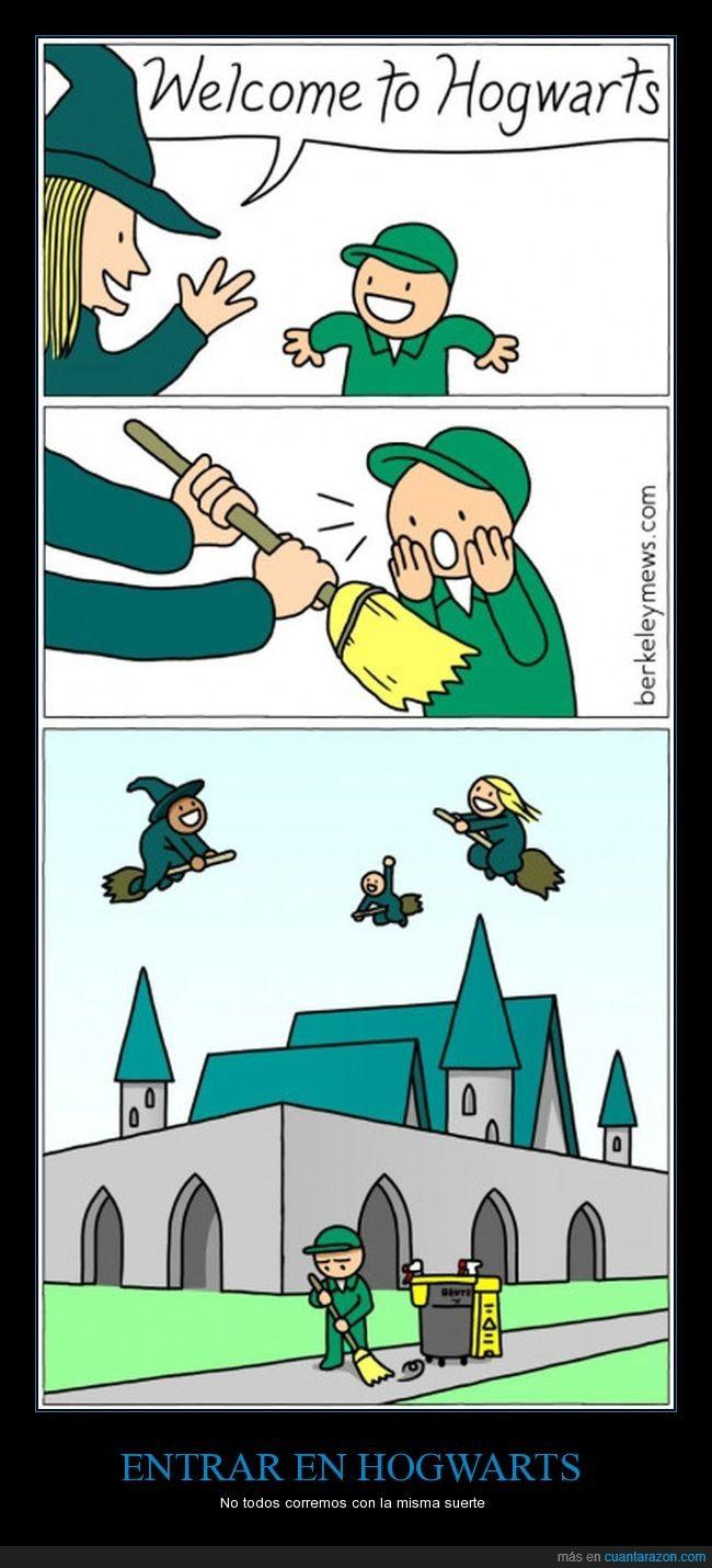 Entrar en Hogwarts no siempre es sinónimo de pasarlo bien - No todos corremos con la misma suerte   Gracias a http://www.cuantarazon.com/   Si quieres leer la noticia completa visita: http://www.estoy-aburrido.com/entrar-en-hogwarts-no-siempre-es-sinonimo-de-pasarlo-bien-no-todos-corremos-con-la-misma-suerte/