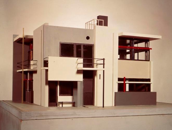 Maquette Rietveld Schröderhuis