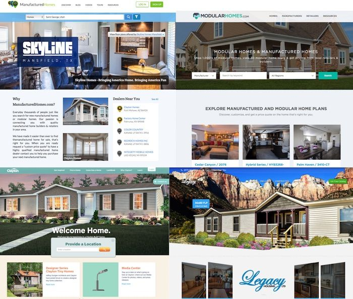 Top 10 Websites For A Manufactured Home Or Modular