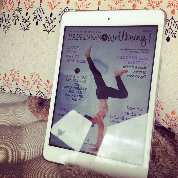 The April issue of Happiness + Wellbeing Magazine is now live! You can get your copy from the Apple App Store Newsstand or via our website at www.hwmag.happyplanetapps.com for just $2.99AU.  Would love to hear your thoughts on this issue!