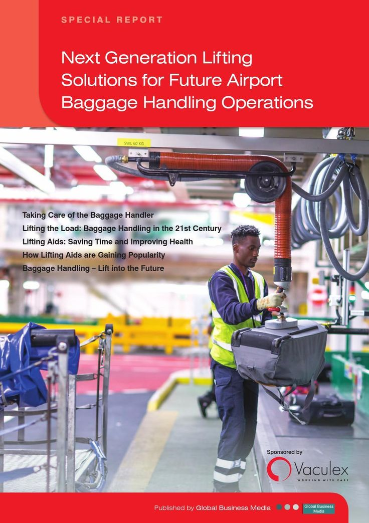 #ClippedOnIssuu from Airport Technology Reports – Next Generation Lifting Solutions – Future Airport Baggage Handling Ops
