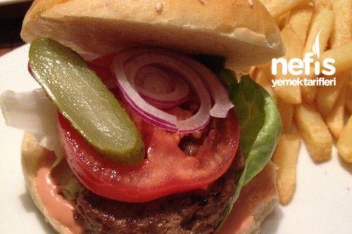 Ev Yapımı Hamburger Ekmeği Ve Eti Tarifi