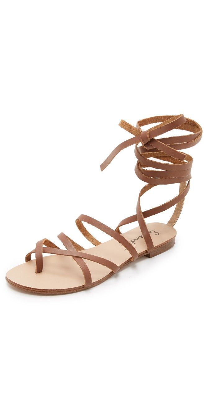 Splendid Carly Lace Up Sandals | SHOPBOP