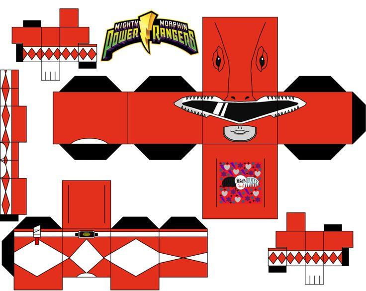 Red Power Ranger by Guitar6God.deviantart.com on @deviantART