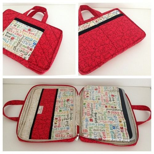 Bolsa para Note Book   handbags   Fabric wallet, Notebook