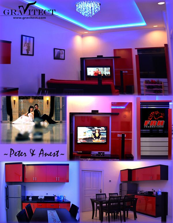 Interior Design, Home, Family Room, Kitchen Set, Indonesia, Interior Photography, Custom, Furniture