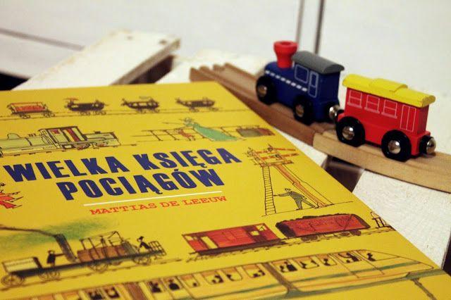 Maki w Giverny: Wielka księga pociągów, John Porter, il. Mattias de Leeuw
